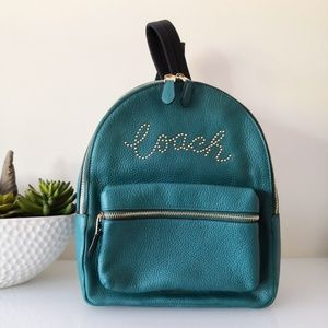 Coach MEDIUM CHARLIE BACKPACK WITH STUDDED